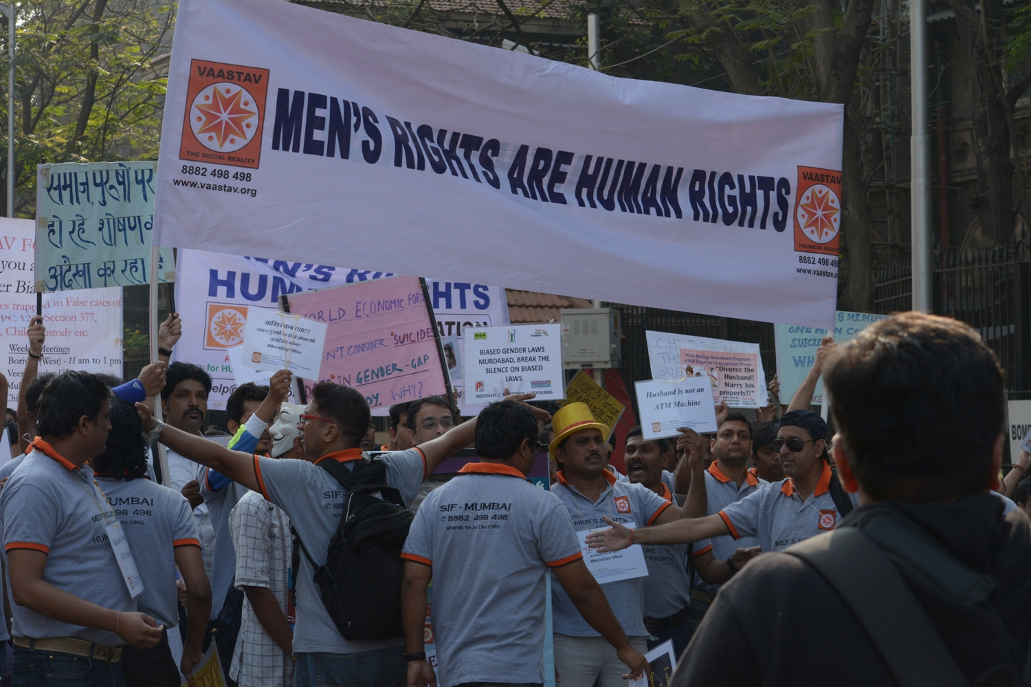 Men's rights are HUMAN RIGHTS