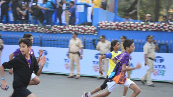 Dream Run Starts at TATA Mumbai Marathon