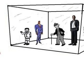 Glass Jailing Men