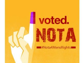 NOTA for men's rights