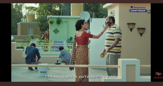 Domestic Violence on men in Asian Paint Ad