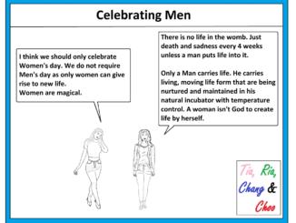 Celebrating Men