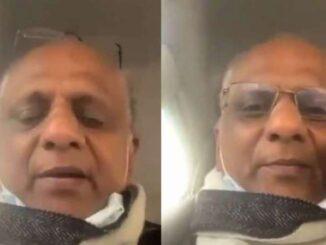 Screenshot of Dr KK Aggarwal viral video