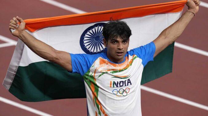 Sportsman Neeraj Chopra wins gold at Tokyo Olympics